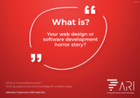 What is your web design or software development horror story?