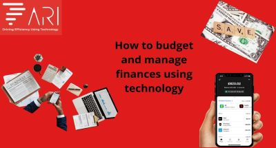 Budgeting and Managing Finances using Technology
